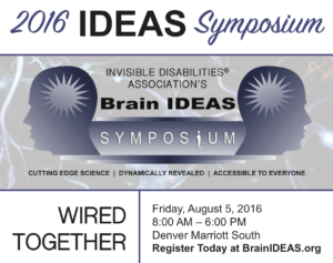 2016 Brain IDEAS Symposium @ Marriott Denver South | Lone Tree | Colorado | United States